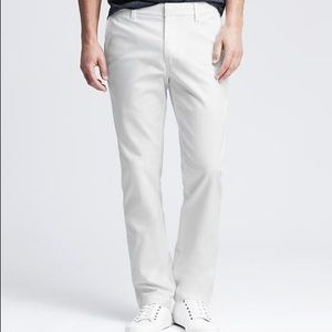 Banana Republic Aiden chino white pants size 36/32
